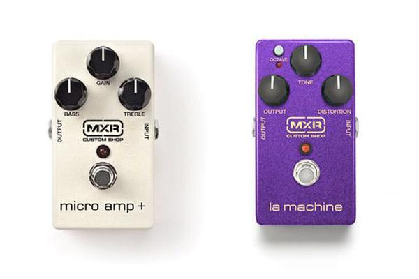 Micro Amp + e La Machine: nuovi Custom Shop da MXR
