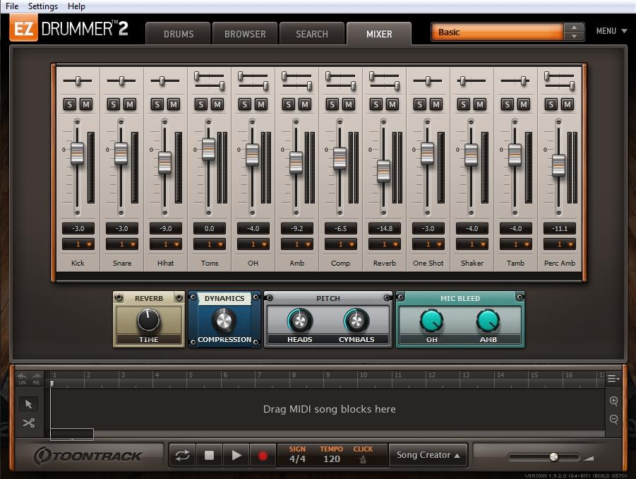 Toontrack - EZdrummer 2 il test in anteprima