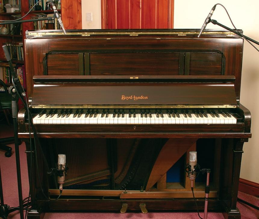 Accordo: Registrare il pianoforte verticale della nonna