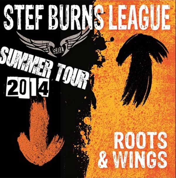 Stef Burns in tour estivo