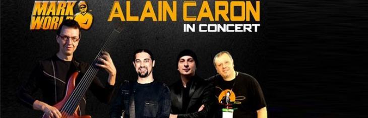 Ciro Manna in tour con Alain Caron