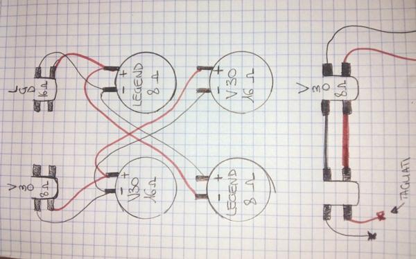 Schema Collegamento Equalizzatore Ad Amplificatore : Accordo collegare più casse a un ampli