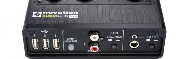 Novation: Audiohub 2x4