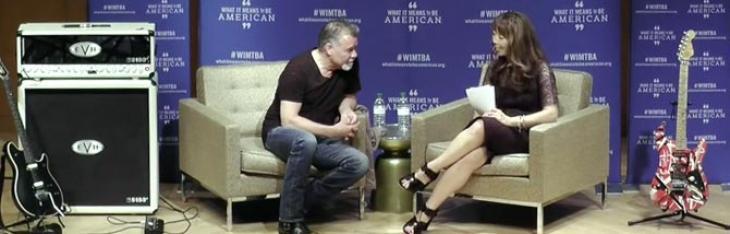 La lunga chiacchierata con Van Halen allo Smithsonian