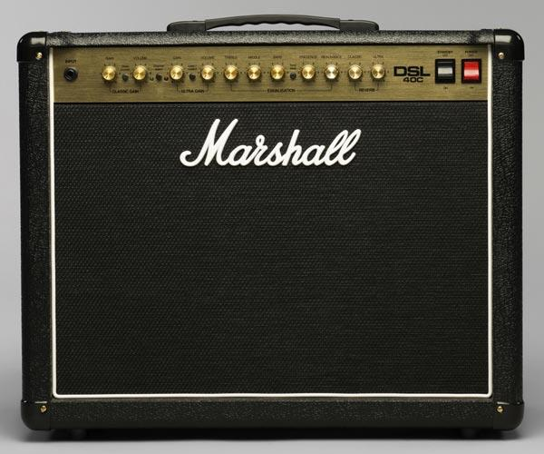 Marshall DSL40C: rock and roll all nite!