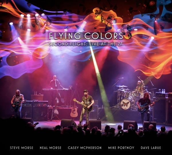 Second Flight: Live At The Z7, il nuovo DVD-CD dei Flying Colors
