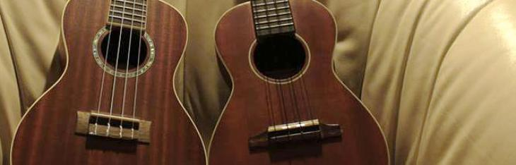 Piccoli amici: ukulele Cordoba e Soundsation a confronto