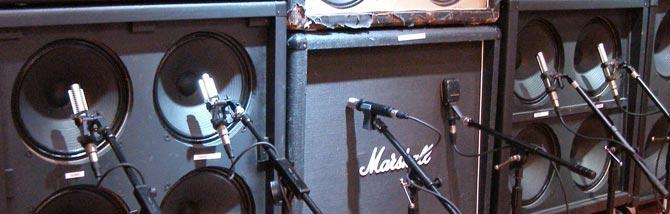 Registrare l'elettrica con due microfoni