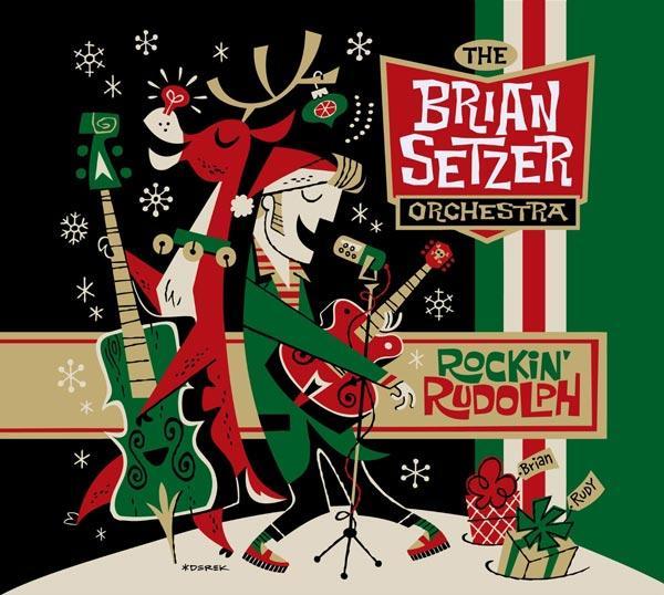 Negli USA non è Natale senza Brian Setzer