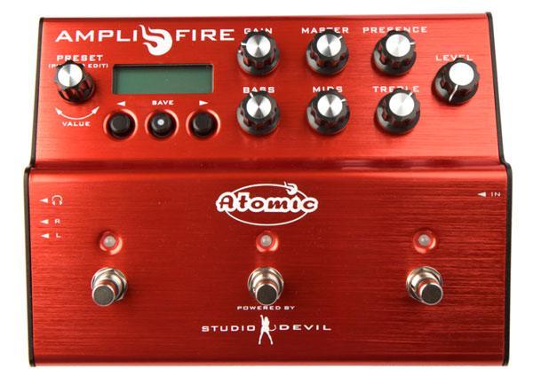 Atomic Amplifire: il digitale ha preso fuoco
