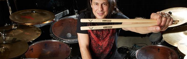 Mike Mangini nuovo endorser Vater Drumsticks