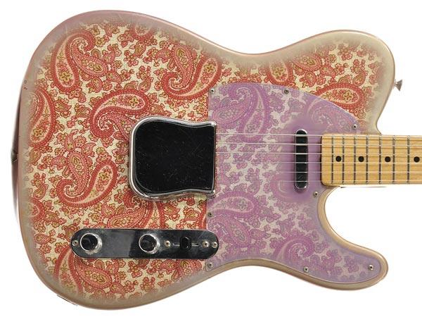 Fender Paisley: la finitura frufrù che ha conquistato il Re