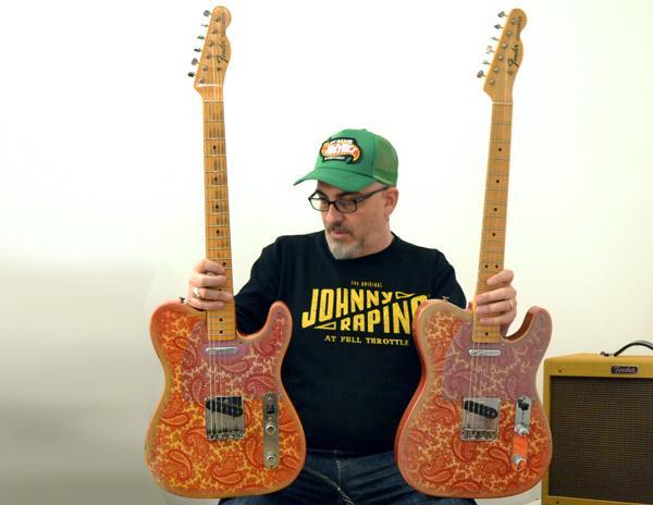 Fender Telecaster Paisley del '68 a confronto