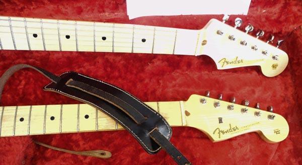 Mani su una Stratocaster del 1957