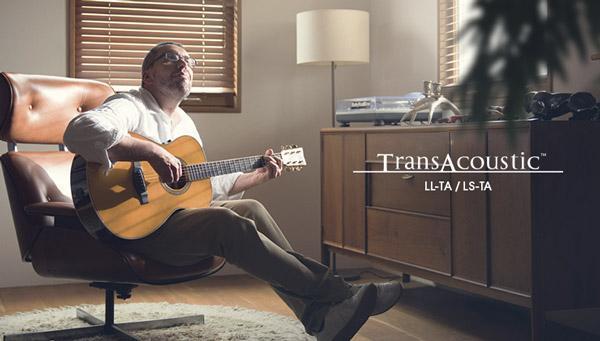 TransAcoustic: chorus e riverbero si sentono unplugged