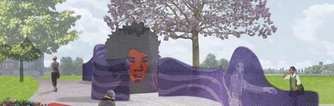 Il Jimi Hendrix Park diventa un'installazione sonora