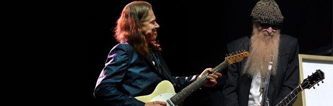 Billy Gibbons e Robben Ford assieme dal vivo