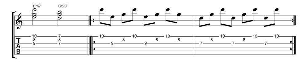 Federico Poggipollini: come suonare gli arpeggi