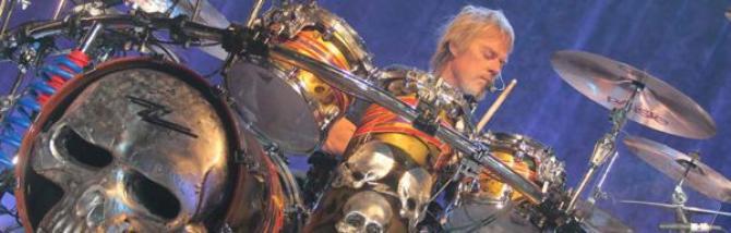 Classic rock blues drumming