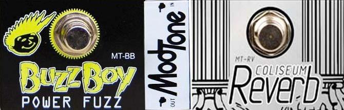 Modtone Buzz Boy & Coliseum Reverb
