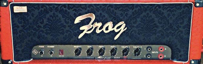 Frog, plexi migliorate e l'essenza del british sound