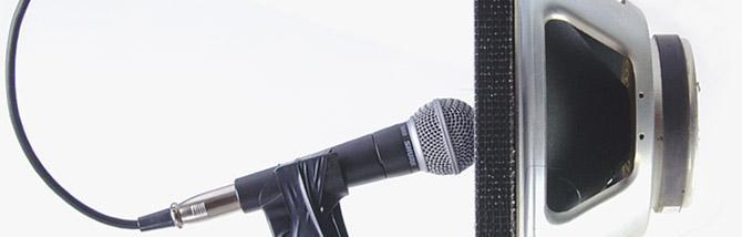 Quanto conta il cabinet se microfoni il cono così da vicino?