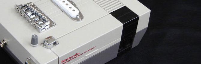 Quando Nintendo, Sega e gli altri diventano chitarre elettriche