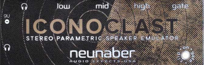 Neunaber Iconoclast: lo speaker emulator che fa lo stompbox