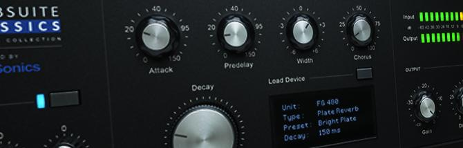 Slate Digital VerbSuite Classics Plugin Of The Week