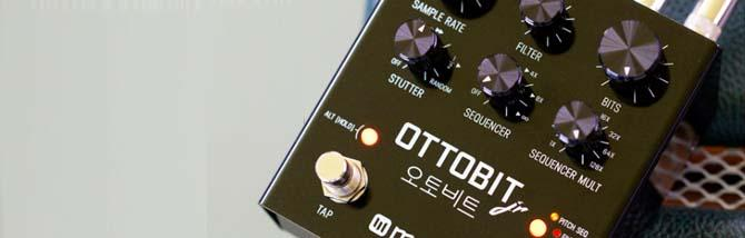 Ottobit Jr: bit crusher e sequencer come non l'hai mai sentiti