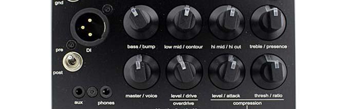 Plex: tutto il suono sotto i piedi col preamp Gallien Krueger