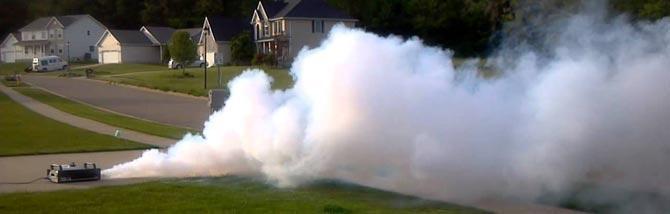 Hazer vs Fog Machine, per non perdersi nella nebbia