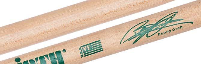 Arrivano le Benny Greb Signature: Bacchette firmate Vic Firth