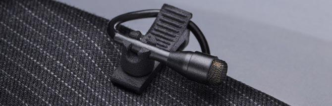 DPA presenta la clip a 4 posizioni per il microfono d:screet