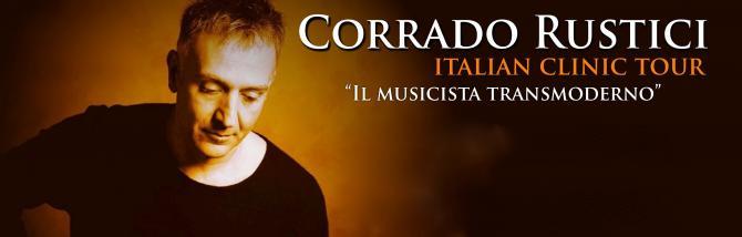A lezione con Corrado Rustici
