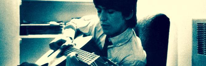 Un blues in acustico come George Harrison