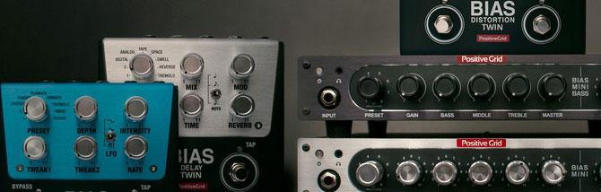 La famiglia BIAS si rimpicciolisce con 2 ampli e 3 nuovi pedali