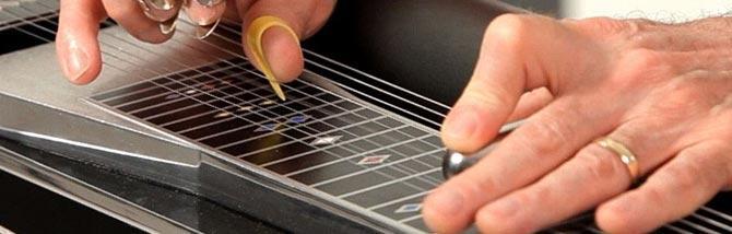 Trasformare la chitarra in una lap steel
