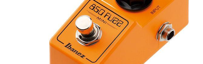 Ibanez Mini Fuzz, l'850 che ti sta in tasca