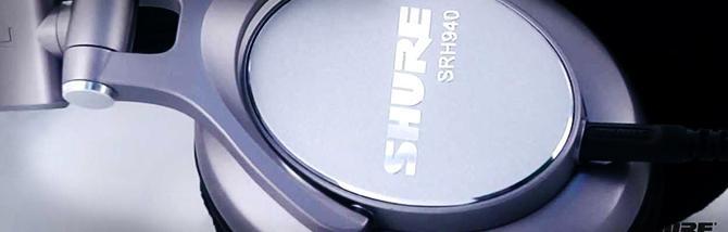 SRH940, le cuffie da studio di Shure