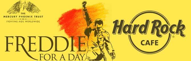 Hard Rock festeggia 71 anni di Freddie Mercury per beneficenza