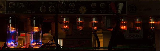 Quando l'amplificatore genera una risonanza acuta