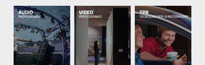 Audio, video e TPR: Sisme aggiorna la homepage