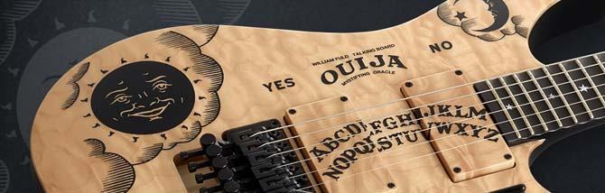 La Ouija di Kirk Hammett in edizione limitata Natural