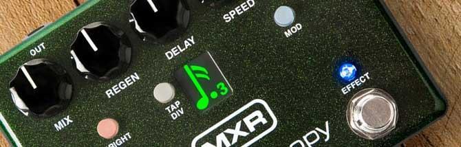Carbon Copy Deluxe: delay analogico programmabile