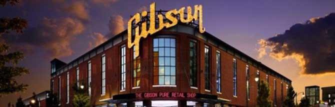 Gibson Memphis si trasferisce