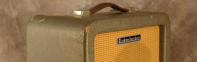 Rickenbacker M11: un amplificatore vintage e misterioso