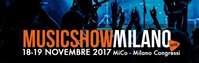 SHG MusicShow 2017: l'elenco espositori