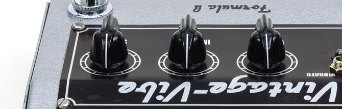Formula B Vintage-Vibe: testato l'Uni-Vibe analogico moderno