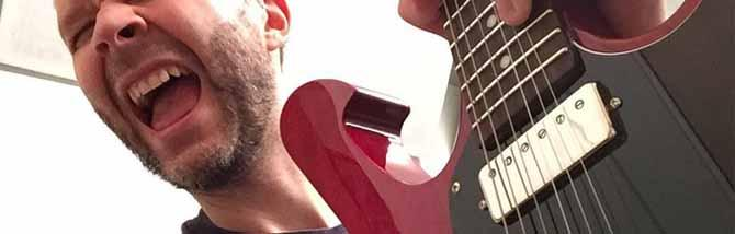 Paul Gilbert testa i suoi mini-humbucker DiMarzio